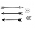 Pols Tattoo - Pijlen tattoo voorbeeld Pijlen 5