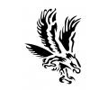 Roofdieren tattoo voorbeeld Arend