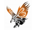 Roofdieren tattoo voorbeeld Roofvogel