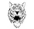 Roofdieren tattoo voorbeeld Tijger