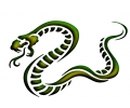Roofdieren tattoo voorbeeld Slang