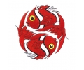 Vissen & Koi Karpers tattoo voorbeeld Rode Vissen