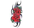 Roos tattoo voorbeeld RoosTribal 1