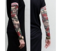 Tattoo sleeves armen tattoo voorbeeld Roses and water sleeve