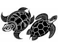Dieren tattoo voorbeeld Schildpadden