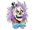 Skulls Kleur tattoo voorbeeld Skull met Hoed