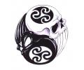 Skulls Kleur tattoo voorbeeld Skulls Yin Yang