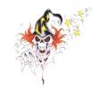 Skulls Kleur tattoo voorbeeld Skull Tovenaar 2