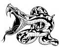 Roofdieren tattoo voorbeeld Bijtende Slang