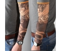 Tattoo sleeves armen tattoo voorbeeld Sleeve 19 Slang