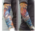 Tattoo sleeves armen tattoo voorbeeld Sleeve 2 Zon & Maan