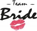 Vrijgezellenfeest tattoo voorbeeld Team Bride
