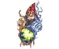Boosaardige Tattoos tattoo voorbeeld Boze Tovenaar 3
