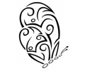 Tattoo Design tattoo voorbeeld Vlinder 3