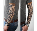 Tattoo sleeves armen tattoo voorbeeld Sleeve 21 Tribal Blauw