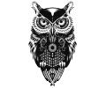 Nieuw!!! Plaktattoos tattoo voorbeeld Uil 2