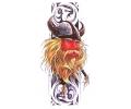 Vikingen tattoo voorbeeld Viking 2