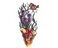 Zeemeermin tattoo voorbeeld Vis 2