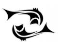 Sterrenbeelden tattoo voorbeeld Vissen TD