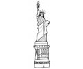 Overige Symbolen tattoo voorbeeld Vrijheidsbeeld