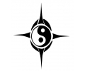 Peace tattoo voorbeeld YingYang