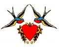 Zwaluwen tattoo voorbeeld Zwaluw 1